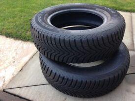 Winter tyres. Vredestein 185 70 r14