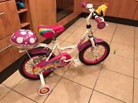 "Apollo Pixie 14"" Girls bike (will accept reasonable offers)"