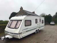 Caravan Swift Conqueror 640 SAL. A1 Condition. All facilities. Very little use.
