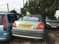 TOYOTA AVENSIS VERMONT 2001- FOR PARTS ONLY