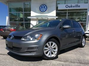 2015 Volkswagen Golf 2.0 TDI Comfortline Back Up Cam Leather Sun
