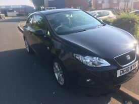 2010 Seat Ibiza 1.6 TDI CR Black Coupe FSH