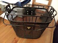 Topeak Basket Front With Fixer 3E Black - Hardly used