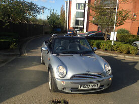 Beautiful Mini Cooper Convertible in an immaculate condition