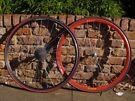 Campagnolo wheelset Mavic rims 700c Michelin Tires