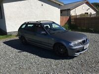 Bmw estate 2.0 turbo diesel remapped 02 plate mintcondition