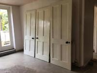 Cambridge Victorian 4 panel real wood doors