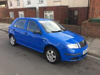 SKODA FABIA 1.2 HPI 5 DOOR LOW MILAGE
