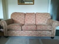 Good condition beige and patterned sofa only. Rarely sat on need gone ASAP.