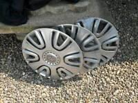 Vauxhall agilia wheel trims