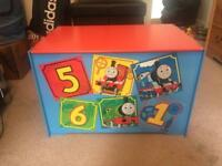 Wooden Thomas the Tank Engine Toy Box