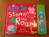 Peppa pig sound book