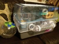 Hamster cage and acessories