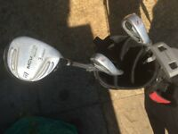 Kids half set golf clubs