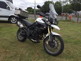 triumph tiger 800cc late 2011