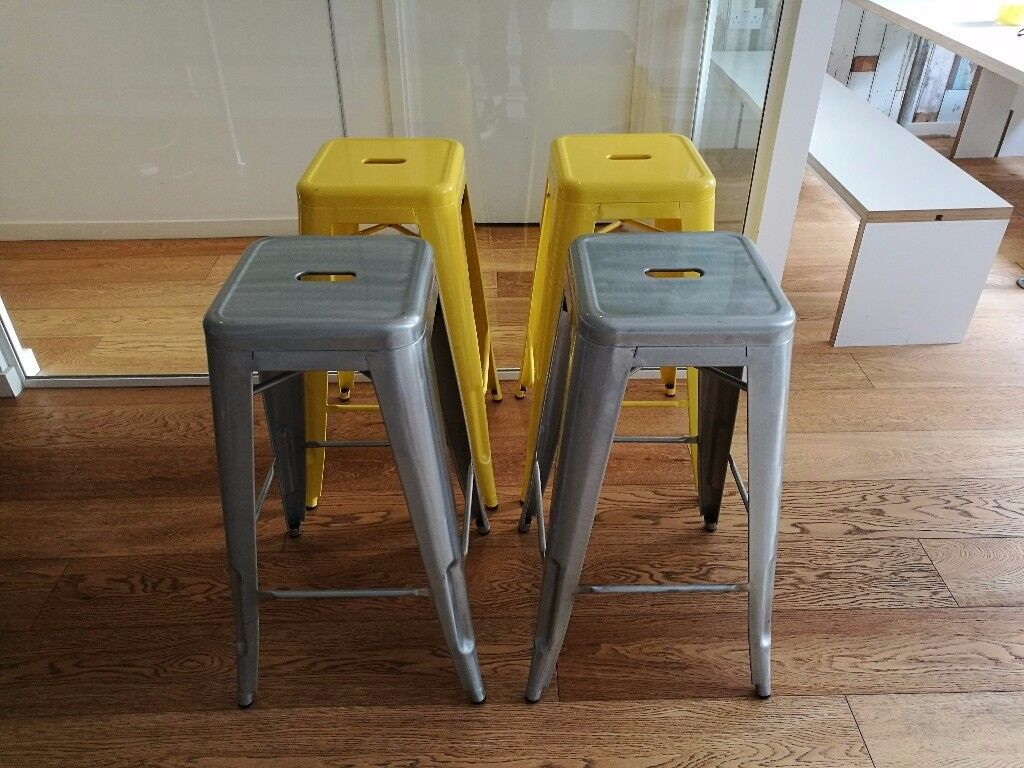 Stainless Steel Stool £25 each or All 4 for £80