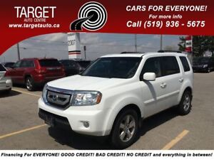 2009 Honda Pilot EX-L, Loaded; Leather, Roof, Drives Great !!!