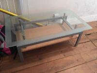 Glass stylish coffee table/side table.