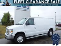 2014 Ford E-250 Cargo Van w/Generous Cargo Room for Your Stuff
