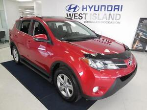 2013 Toyota RAV4 XLE AWD 2.5L MAGS/TOIT OUVRANT 76$/semaine