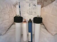 twin domestic water filter
