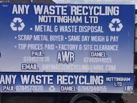 TOP PRICES PAID FOR SCRAP METAL