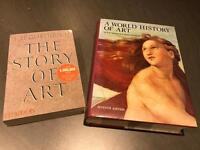 History of Art text books in excellent unused condition