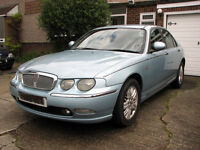 Rover 75 1.8 Club SE Turbo 2003 with long Mot till Jan 2018. Manual - Petrol.