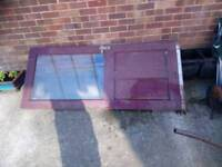 External door half glazed ideal for shed or outhouse