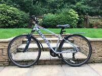 Men's Carrera Hybrid Bike As New with Accessories