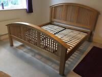 Halo Sharwin Super-King Solid Oak Bed RRP £899