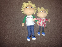Charlie and Lola soft toys