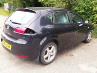 2007 SEAT LEON TDI DIESEL BXE ENGINE BREAKING FOR SPARES ONLY ... HOLE IN ENGINE BLOCK