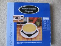 Brand New Microwaveable Hot Plate
