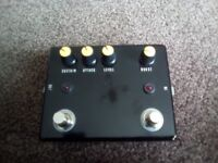Mxr dyna comp + booster clone guitar effects pedal