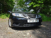 08 SAAB 9-3 LINEAR SE 1.8,MOT FEB 018,1 OWNER ,FULL HISTORY,TOTALLY UNMARKED,STUNNING EXAMPLE