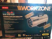 Workzone turbo fan gas heater