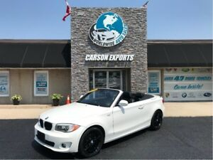 2012 BMW 1 Series WOW TOP DOWN SUMMER FUN!  FINANCING AVAILABLE.