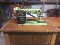 Vintage sowing machine/desk