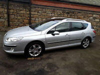 Peugeot 407 Estate Diesel 3 Months Warranty Plus 3 Months AA Breakdown Cover