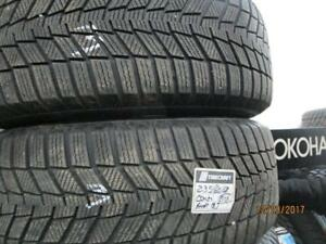235/60R18 SET OF 4 USED BRIDGESTONE  WINTER TIRES