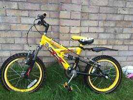 Child's bike 14 inch wheels