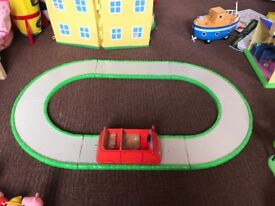 Peppa Pig car and track