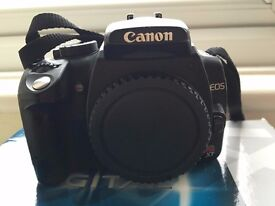 Canon EOS XT 350D Digital SLR Camera Body Only + 2 x 2GB card and reader