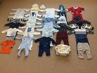 Boys Baby Clothes Bundle 3-6 months