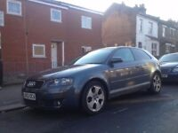 Audi a3 2.0fsi very good condition drives perfect clean car all round 1years MOT