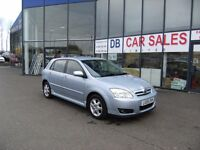 2006 55 TOYOTA COROLLA 1.4 T3 VVT-I 5D 92 BHP **** GUARANTEED FINANCE **** PART EX WELCOME
