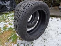 Winter Tyres. 2 x Nokian 225 55 17