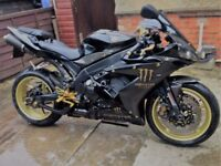 2006 Privet Plate R1 Black & Gold Monster Energy immaculate condition & Lots Extras