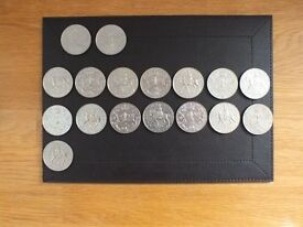 QE2 Silver jubilee and Queen Mother 80th. birthday coins.